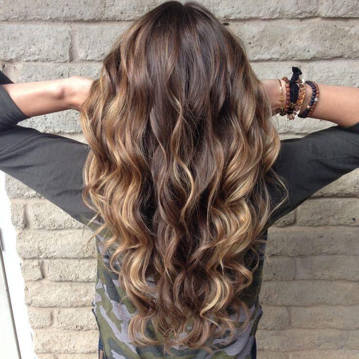 Resultado de imagen para Balayage para cabello largo
