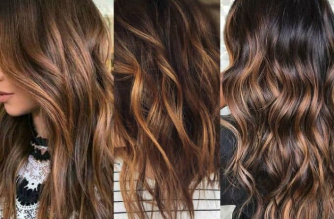 balayage chocolate