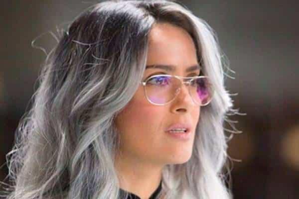 balayage gris en cabello