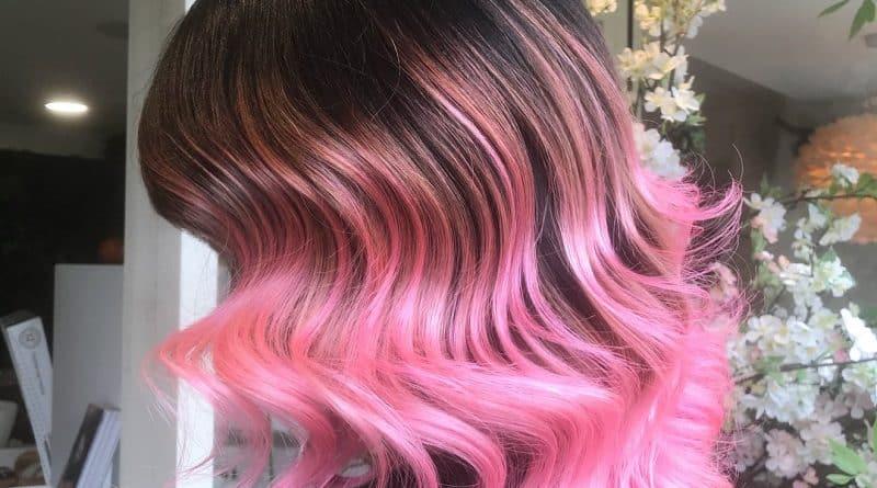 balayage rosa