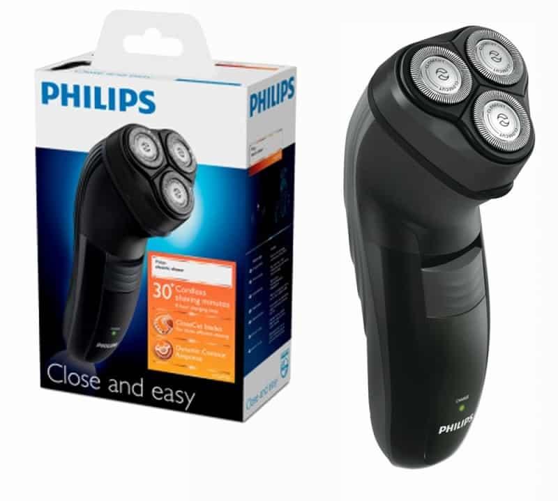 Una máquina de afeitar Philips