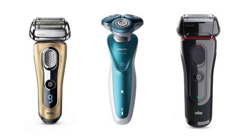 Máquina de afeitar barba