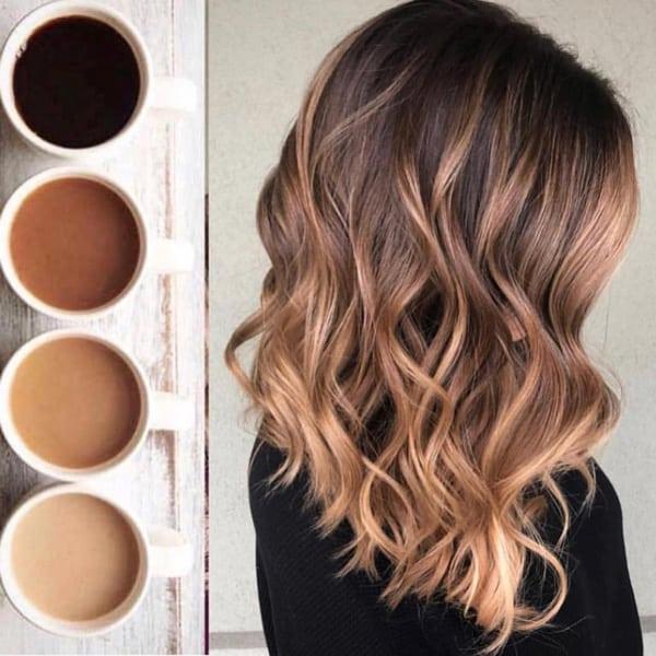 tintes balayage para el cabello