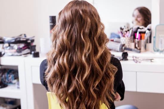 peinado de ondas